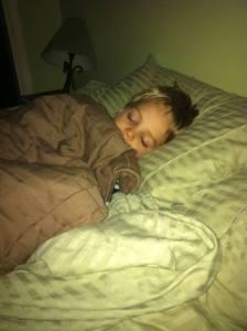 sleeping noah